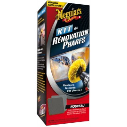 Kit Rénovation Phares Meguiar's