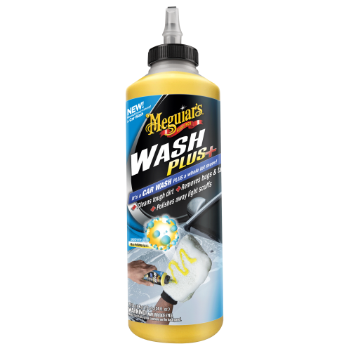 Shampooing Car Wash Plus Meguiar's